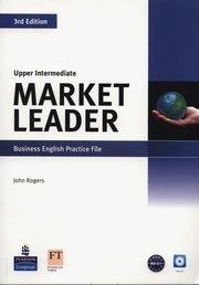 ksiazka tytuł: Market Leader Upper Intermediate Business English Practice File + CD autor: Rogers John