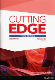 ksiazka tytuł: Cutting Edge Elemetary Workbook with Key autor: Cunningham Sarah, Moor Peter, Cosgrove Anthony
