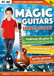 Magic Guitars Szkoła Gitary PC-DVD,