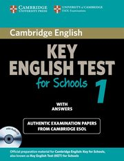 Cambridge Key English Test for Schools 1 with answers,